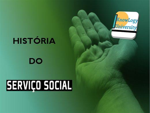 Curso Online de HISTÓRIA DO SERVIÇO SOCIAL
