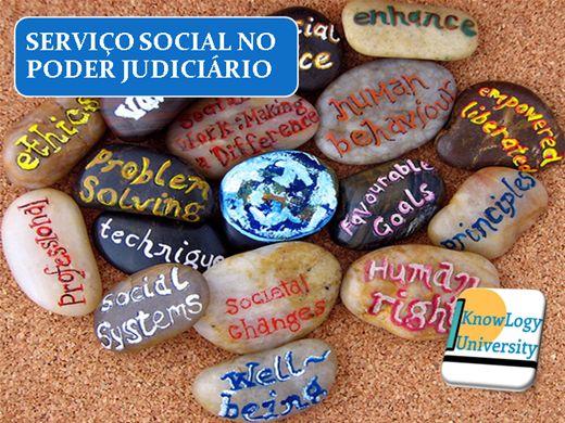 Curso Online de O SERVIÇO SOCIAL NO PODER JUDICIÁRIO
