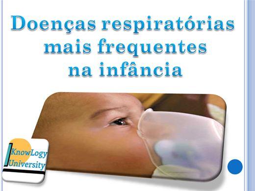 Curso Online de Doenças respiratórias  mais frequentes  na infância