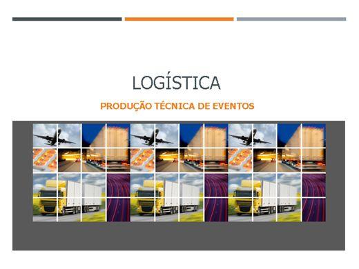 Curso Online de Logística na produção técnica de eventos