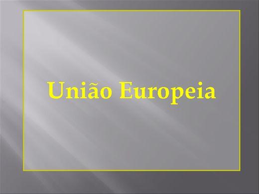 Curso Online de UNIÃO EUROPEIA