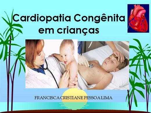 Curso Online de Cardiopatia Congênita em crianças