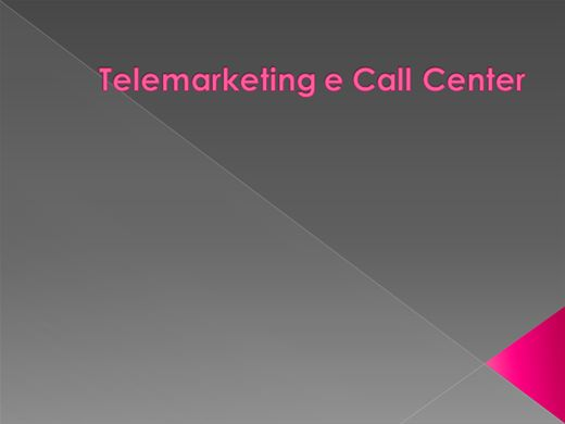 Curso Online de Telemarketing e Call Center
