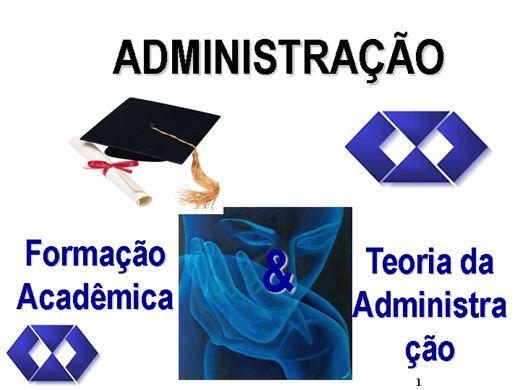 Curso Online de Administração e Teorias da Administração