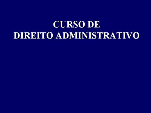 Curso Online de DIREITO ADMINISTRATIVO COMPLETO