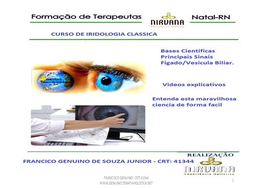 Curso Online de IRIDOLOGIA CLASSICA