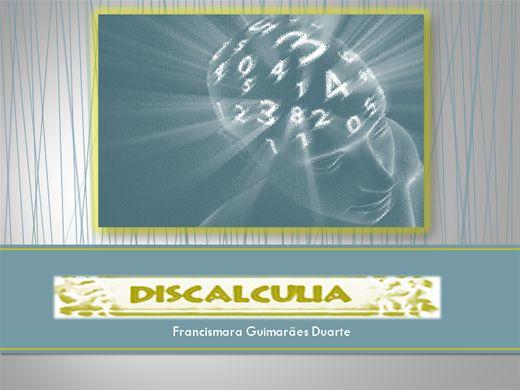 Curso Online de Discalculia