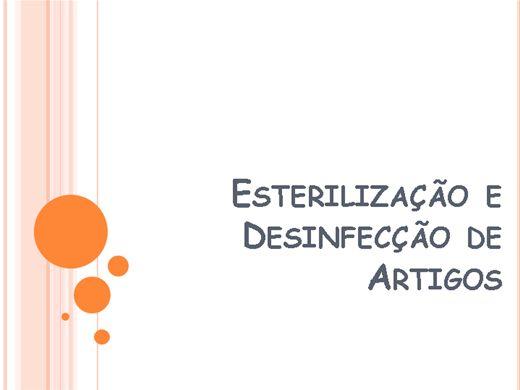 Curso Online de Esterilização e Desinfecção de Artigos
