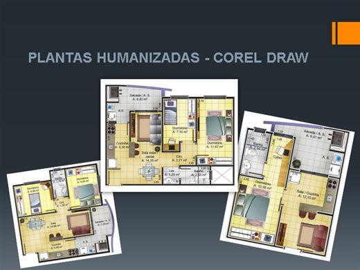 Curso Online de Plantas Humanizadas no Corel Drawn Humanização