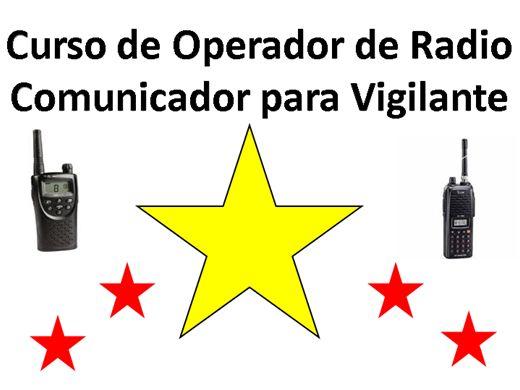 Curso Online de OPERADOR DE RADIO COMUNICADOR (VIGILANTE)