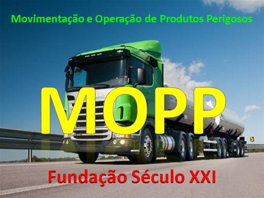 Curso Online de MOPP Movimentação de Produtos Perigosos