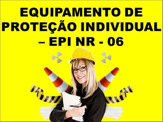 Curso Online de EQUIPAMENTO DE PROTEÇÃO INDIVIDUAL ? EPI NR - 06