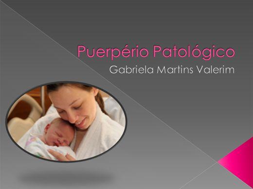 Curso Online de Enfermagem no puerpério patológico