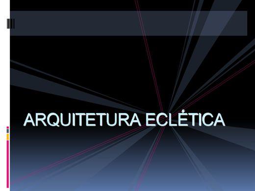 Curso Online de Arquitetura Eclética