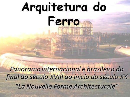 Curso Online de Arquitetura de Ferro