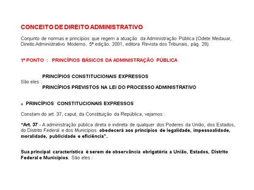 Curso Online de Direito Administrativo para concursos públicos