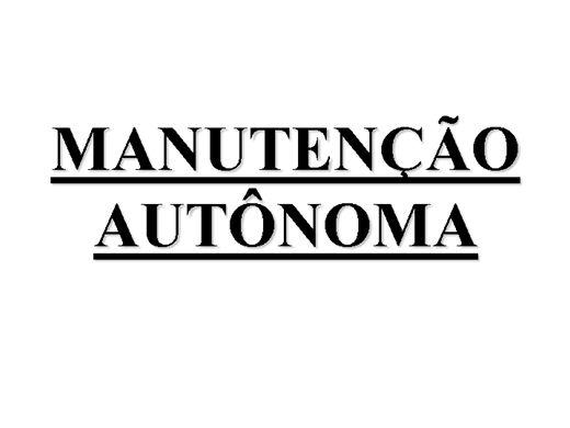 Curso Online de TPM Manutençao produtiva total