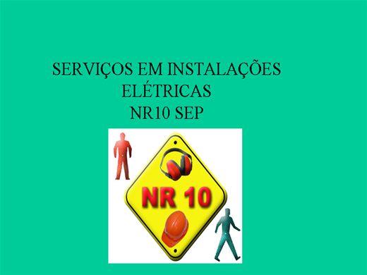 Curso Online de NR-10 SEP  Sistema Elétrico de Potência