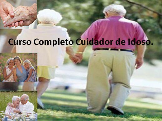 Curso Online de  Curso de Cuidador de Idosos.