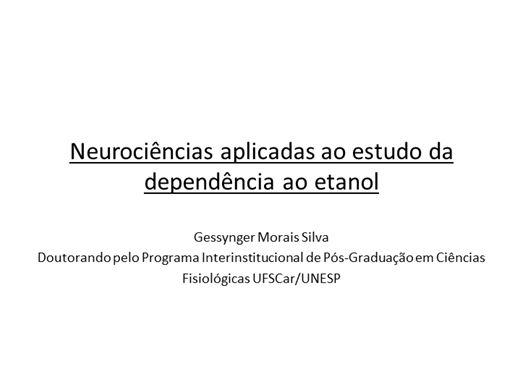 Curso Online de Neurociências aplicadas ao estudo da dependência