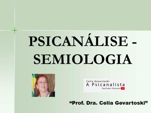 Curso Online de PSICANÁLISE - SEMIOLOGIA