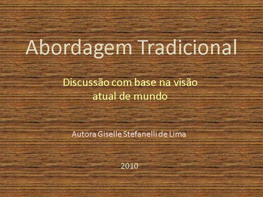 Curso Online de Abordagem Tradicional e a Globalização