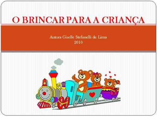 Curso Online de O Brincar para a Criança