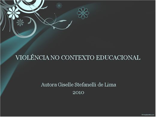 Curso Online de Violência no contexto educacional