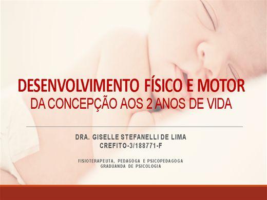 Curso Online de Desenvolvimento físico e motor da concepção aos 2 anos