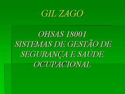 Curso Online de CONHECENDO O SISTEMA OHSAS