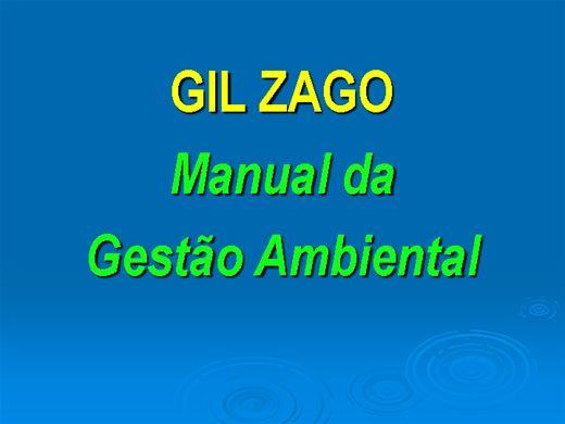 Curso Online de MANUAL DA GESTÃO AMBIENTAL
