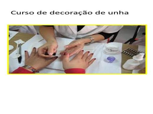 Curso Online de unha-decoradas para manicure