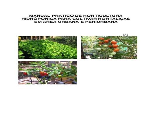 Curso Online de hidroponia cultivo de hortaliças na água