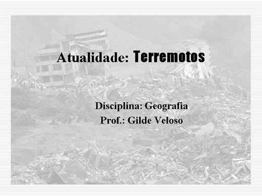 Curso Online de Terremotos