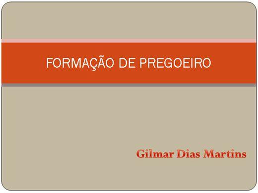 Curso Online de FORMAÇÃO DE PREGOEIRO