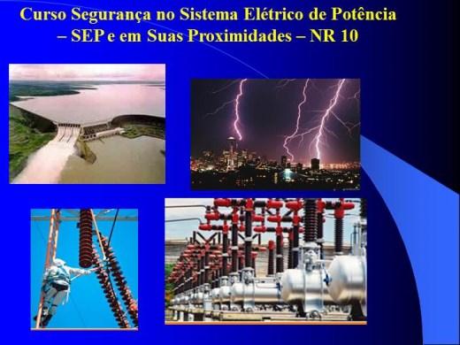 Curso Online Complementar SEP NR10 Segurança no sistema elétrico de potência e em suas proximidades.