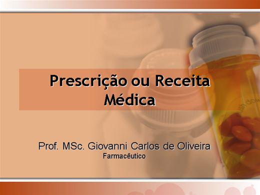 Curso Online de PRESCRIÇÃO OU RECEITA MÉDICA