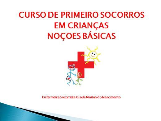 Curso Online de Primeiro Socorros em Crianças Noções Básicas