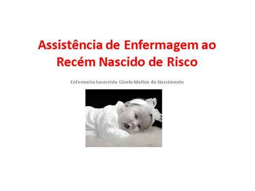 Curso Online de Assistencia de Enfermagem ao Recém Nascido de Risco