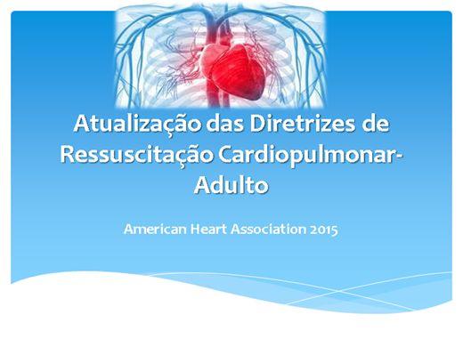 Curso Online de Atualização das Diretrizes de Ressuscitação Cardiopulmonar- Adulto
