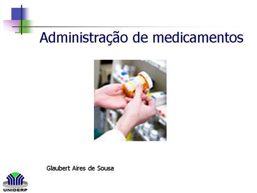 Curso Online de Medicação