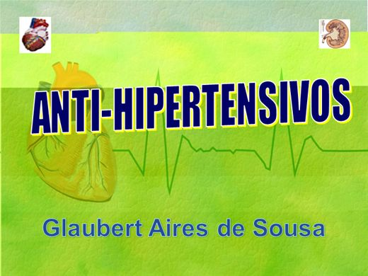 Curso Online de Anti-Hipertensivos