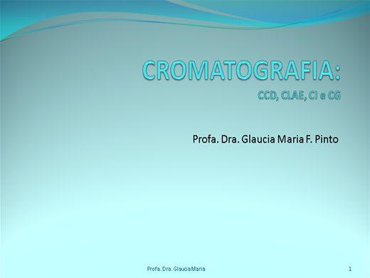 Curso Online de Cromatografia