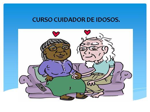 Curso Online de CURSO CUIDADOR DE IDOSOS.