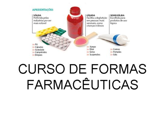 Curso Online de FORMAS FARMACÊUTICAS