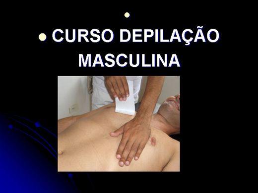 Curso Online de DEPILAÇÃO MASCULINA