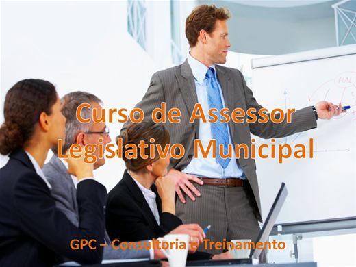 Curso Online de Assessor Legislativo Municipal