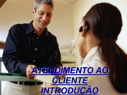 Curso Online de ATENDIMENTO AO CLIENTE- INTRODUÇÃO