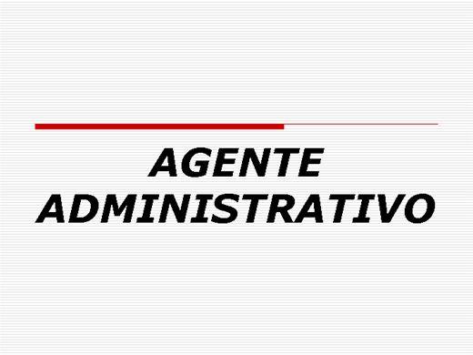 Curso Online de Agente Administrativo