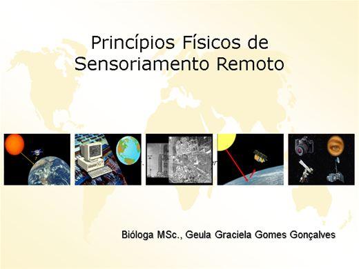 Curso Online de Princípios Físicos de Sensoriamento Remoto